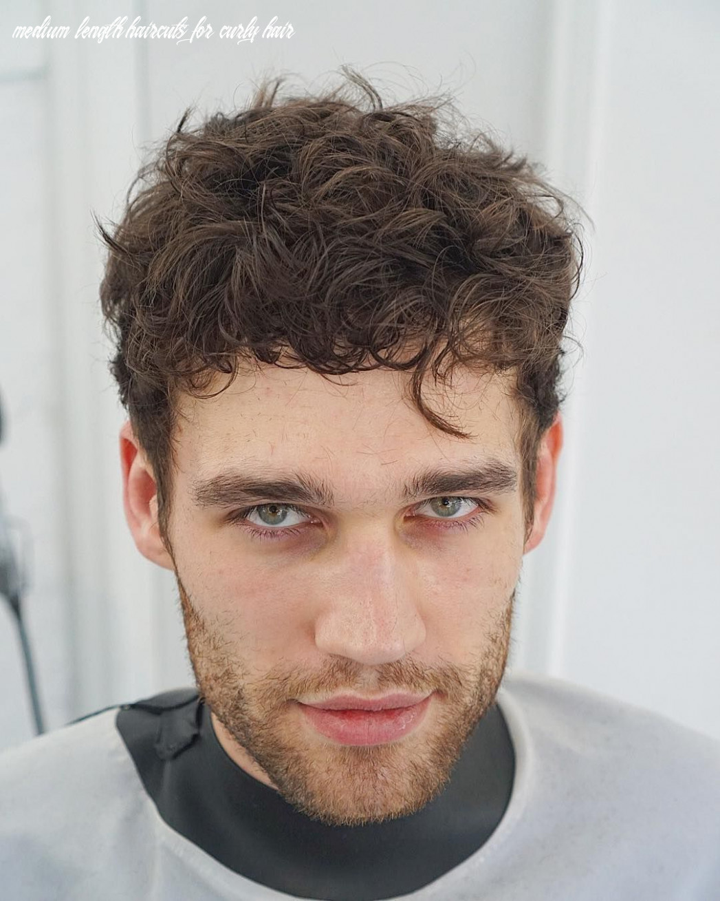 Medium length haircuts for men (10 styles)   haircuts for curly