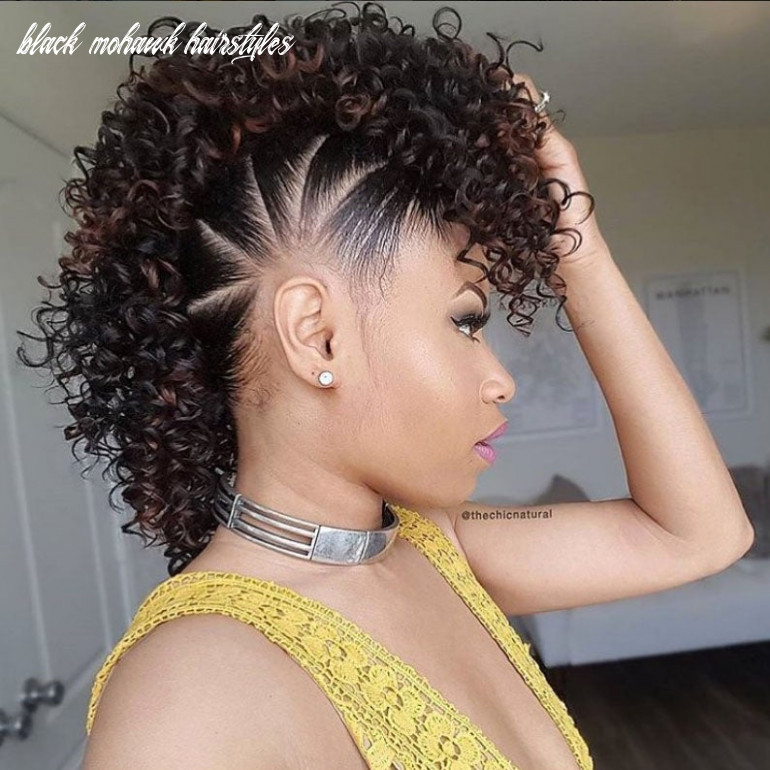 Mohawk hairstyles for natural hair essence black mohawk hairstyles