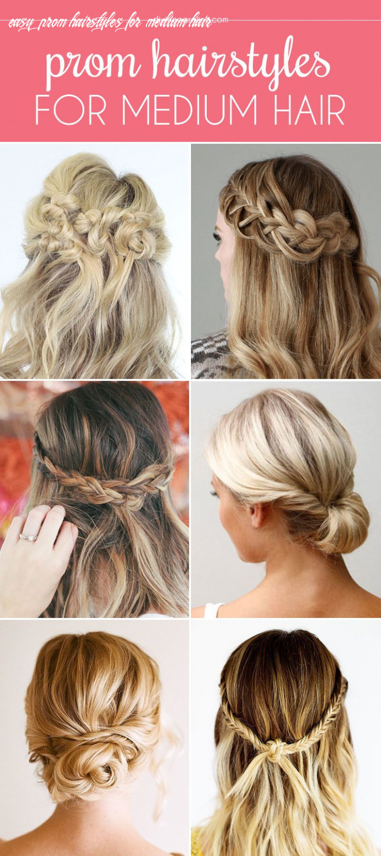 Our favorite prom hairstyles for medium length hair (with images