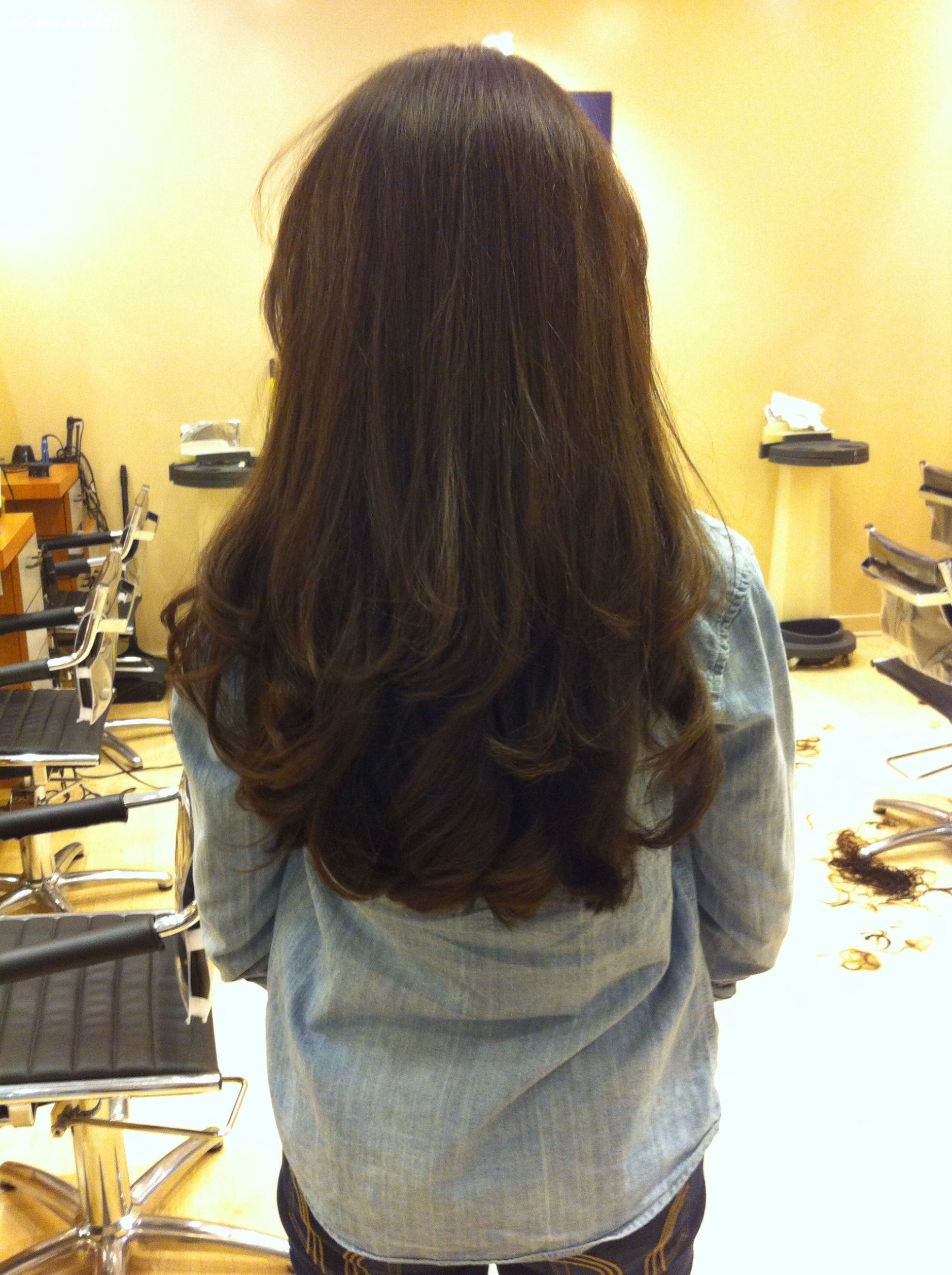 Pin on hair :) mid back hairstyles