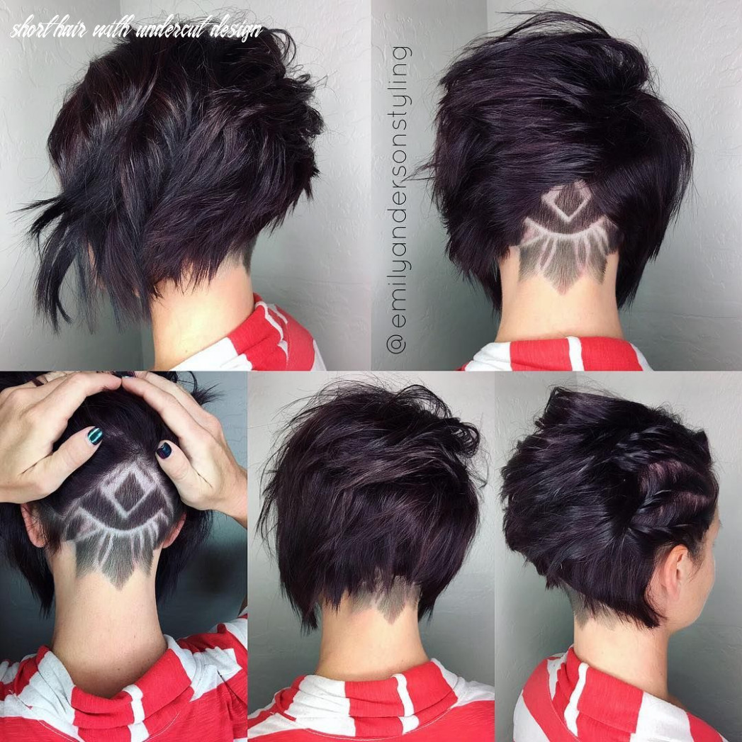 Pin on pixie short hair with undercut design