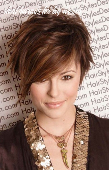 Pin on plus size hairstyles short haircuts for big women