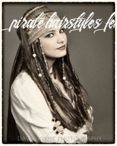 Pirate hair on pinterest | pirate makeup, pirate hairstyles and