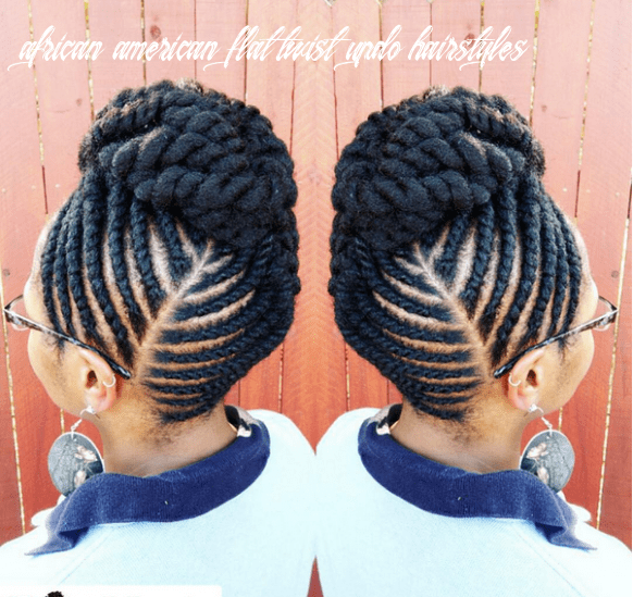 The flat twist updo style official | natural hair twists, flat