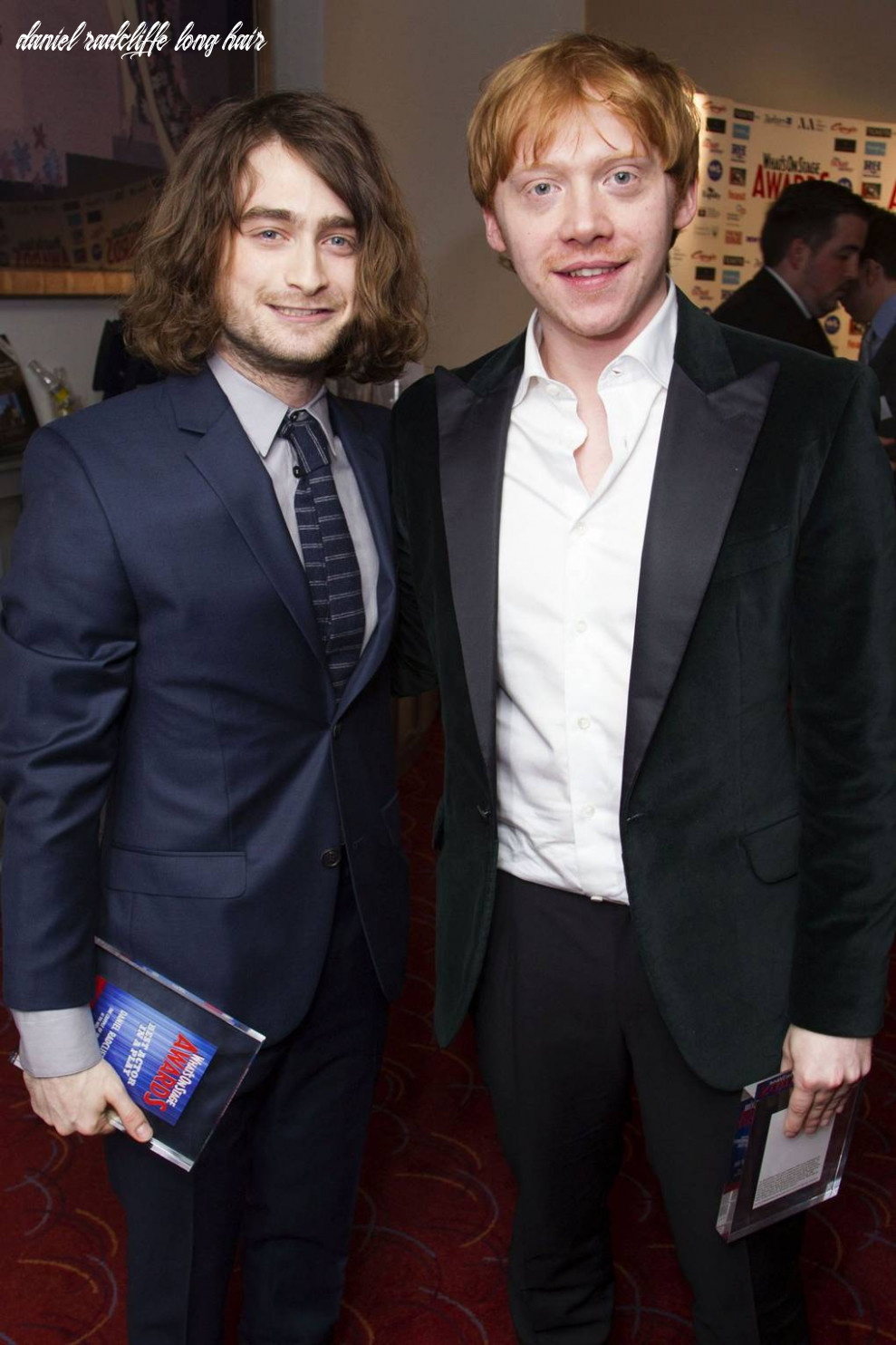 The long haired men brigade daniel radcliffe men with long