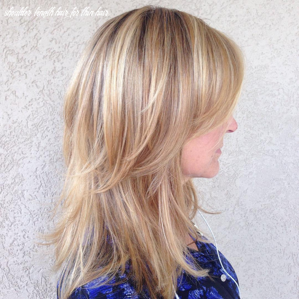 Tips for taking care of the shoulder length hairstyles women