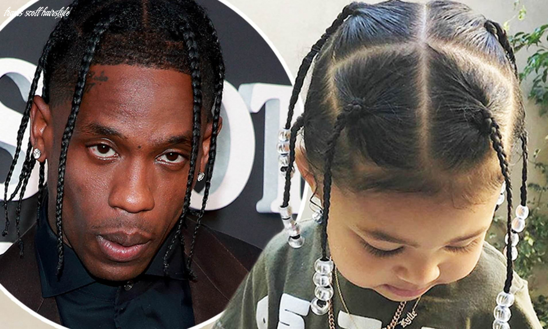 Travis scott gushes over daughter and shares photos of storimi