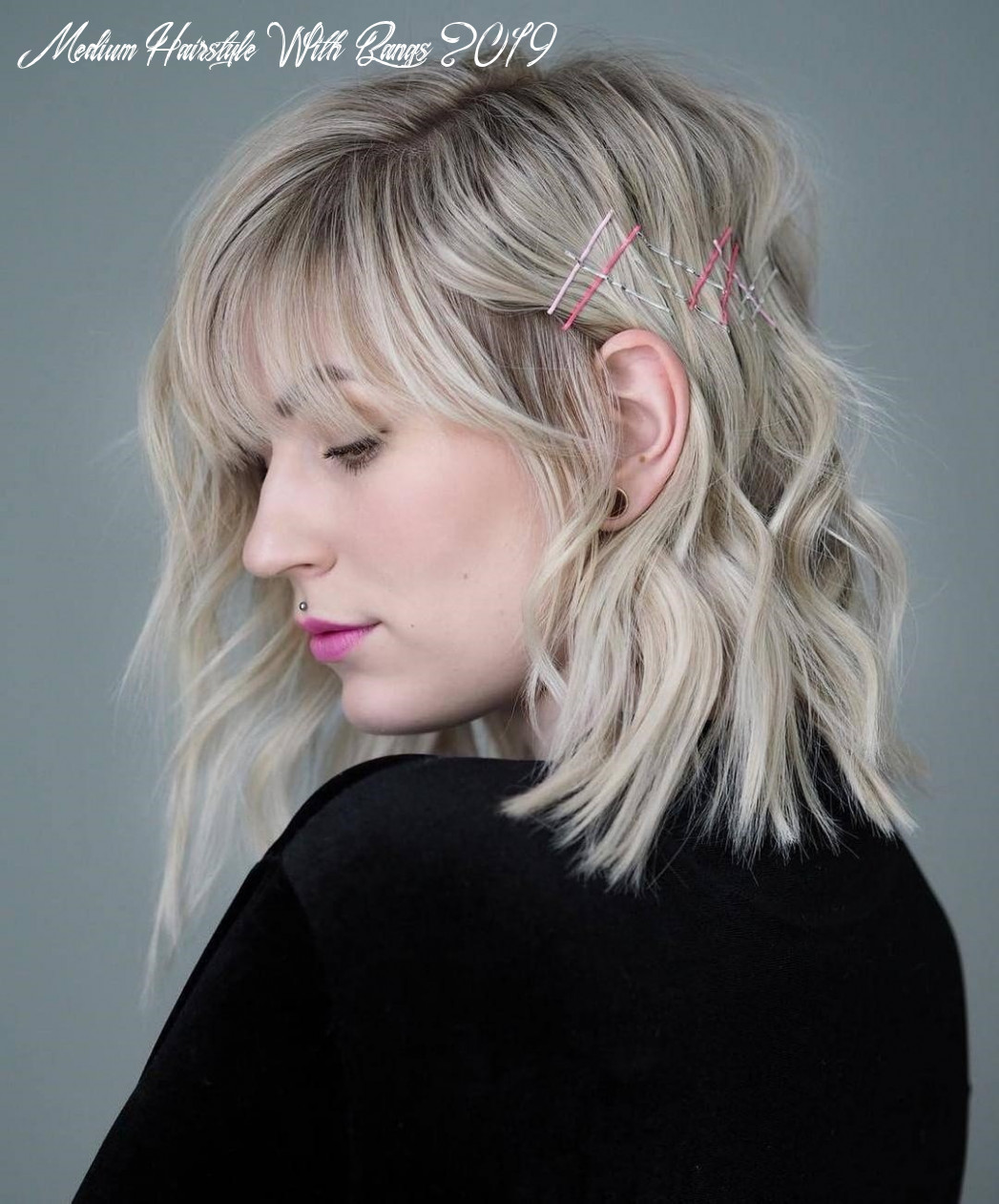10 amazing medium hairstyles with side bangs in 10 the leader