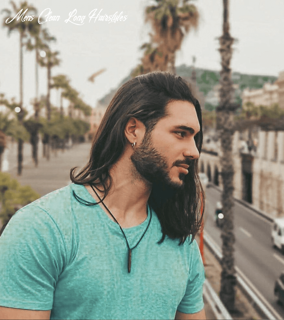 10 barber approved long hairstyles for men hairstyle on point mens clean long hairstyles