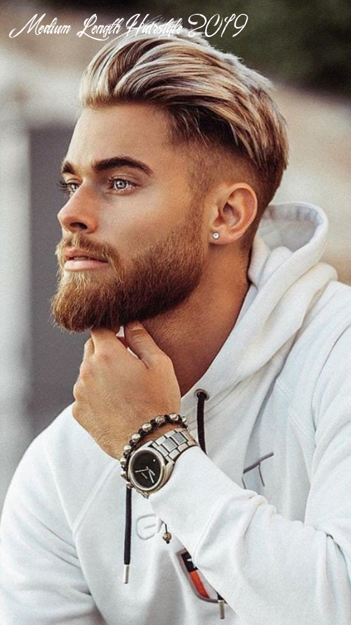 10 best medium length hairstyles for men to try (update 1019