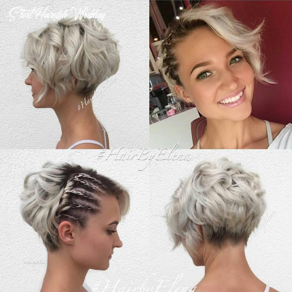 """10 best short wedding hairstyles that make you say """"wow!"""" short hairstyle wedding"""