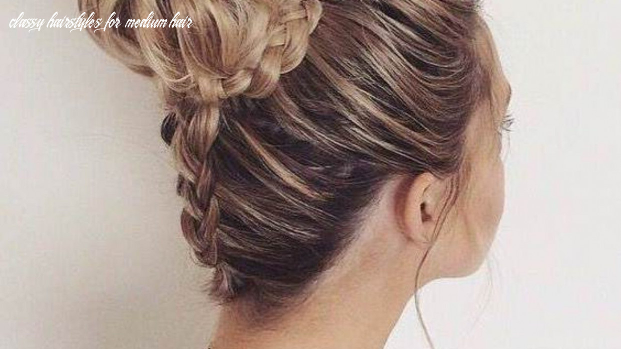 10 classy hairstyles for girls classy hairstyles for medium hair