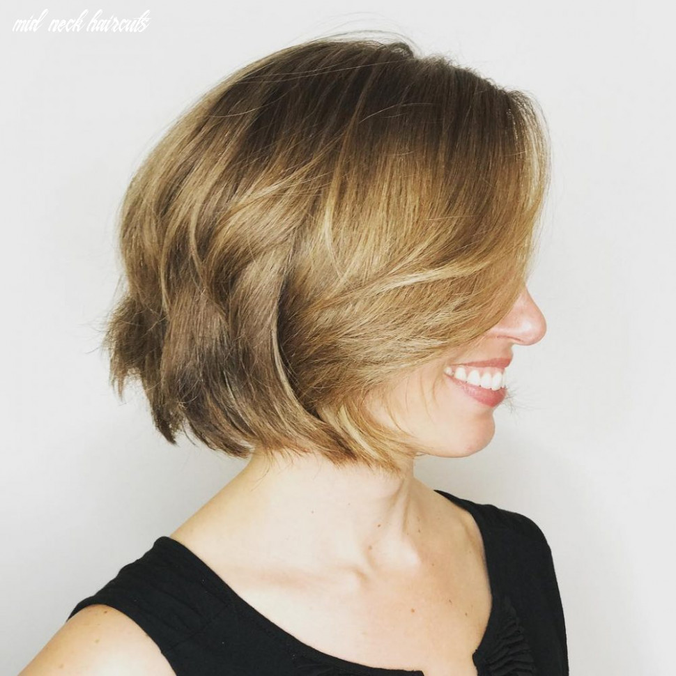 10 cutest chin length hairstyles (trending for 10) mid neck haircuts