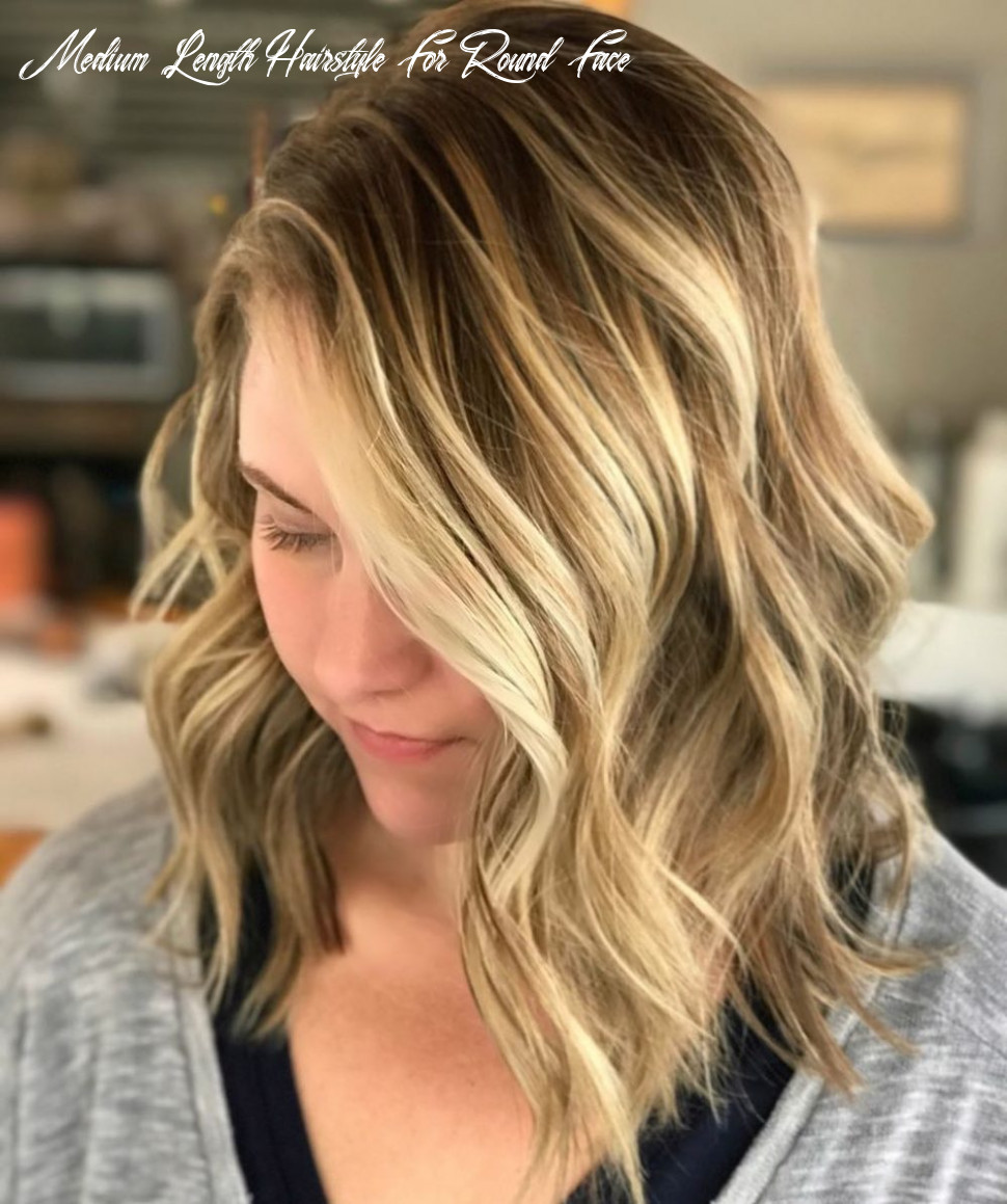 10 flattering medium hairstyles for round faces in 10 medium length hairstyle for round face