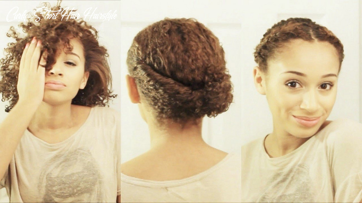10 hairstyles for short curly hair curly short hair hairstyle