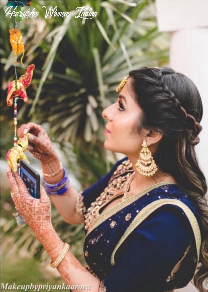 10 indian hairstyles for thin hair for a wow wedding look hairstyles womens indian