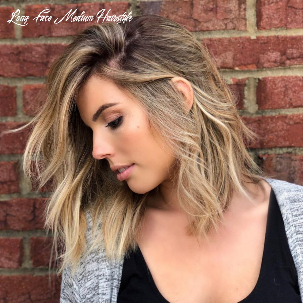 10 medium hairstyles for oval faces in 10 long face medium hairstyle