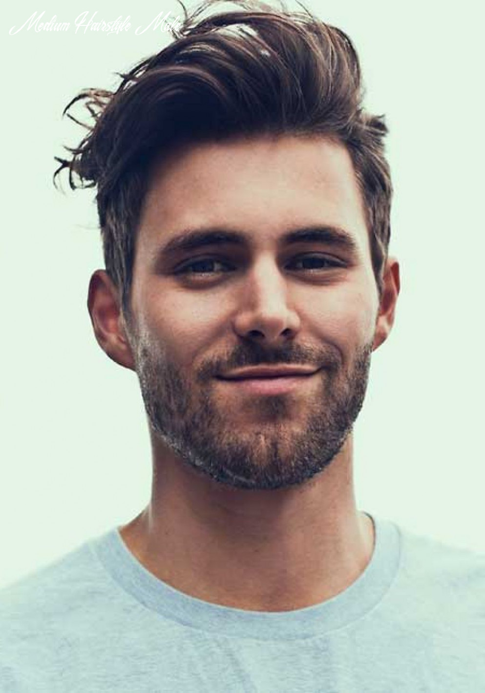 10 medium length hairstyles for men | hipster haircuts for men