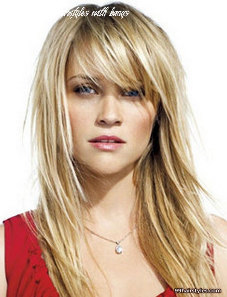 10 of the most beautiful long hairstyles with bangs   bangs with