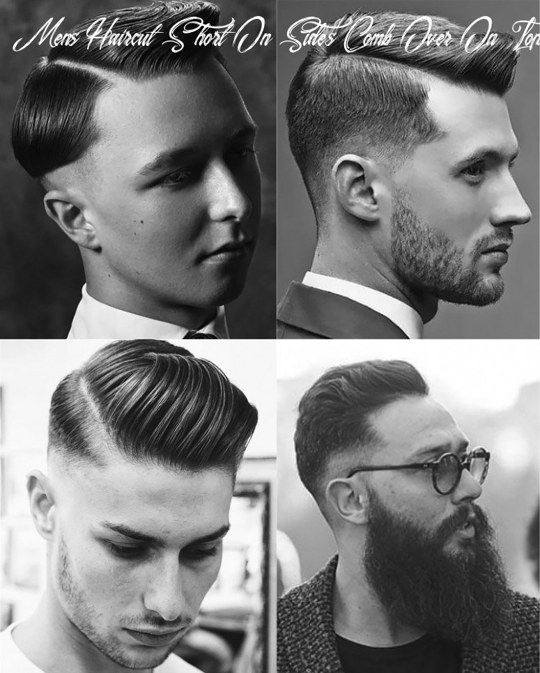 10 perfect comb over haircuts to try in 10 the trend spotter mens haircut short on sides comb over on top