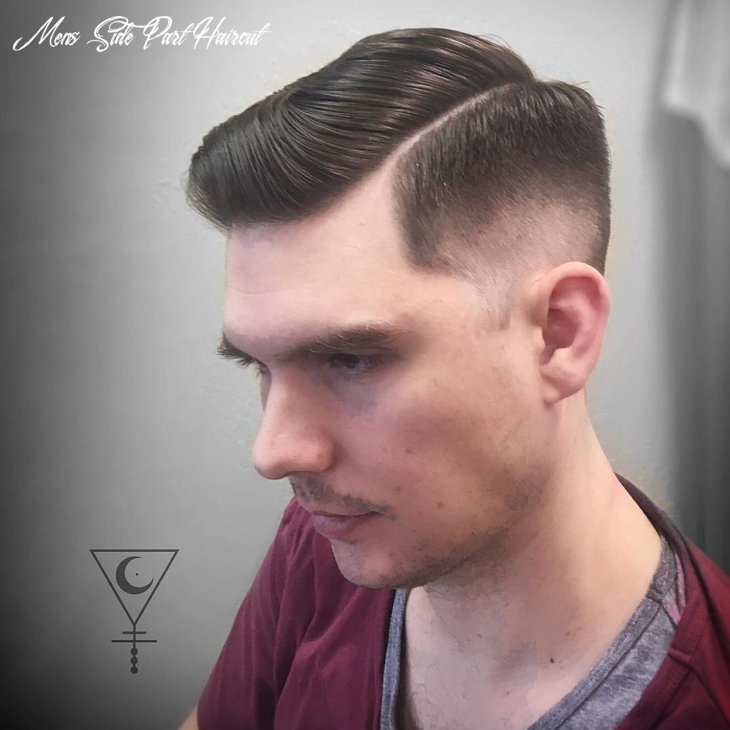 10 side part haircuts: 10 styles that are cool modern mens side part haircut
