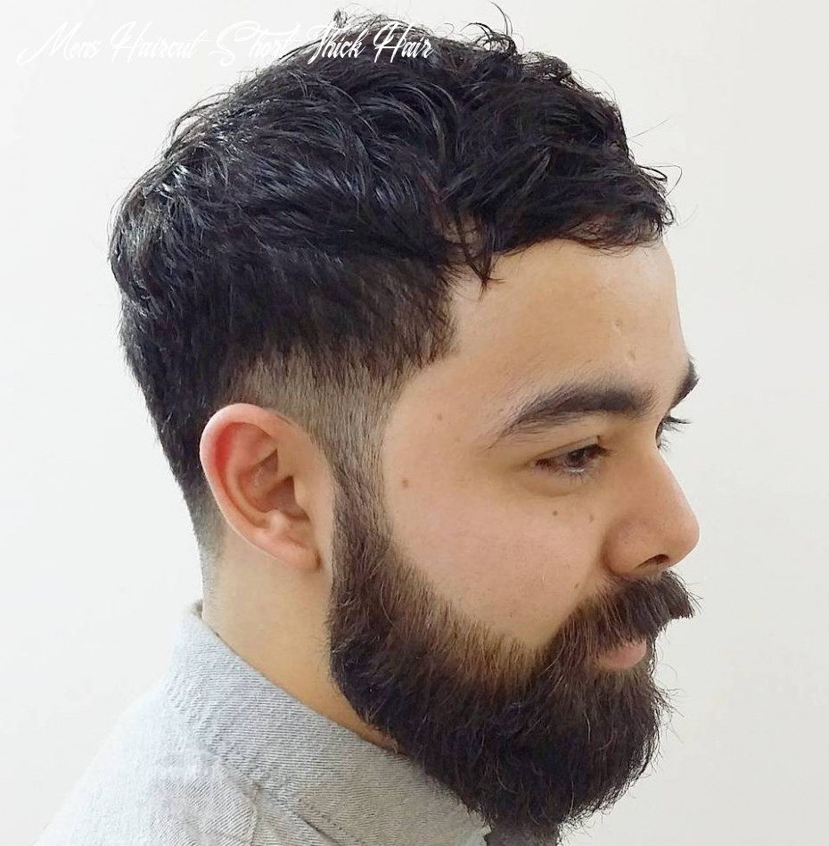 10 statement hairstyles for men with thick hair mens haircut short thick hair