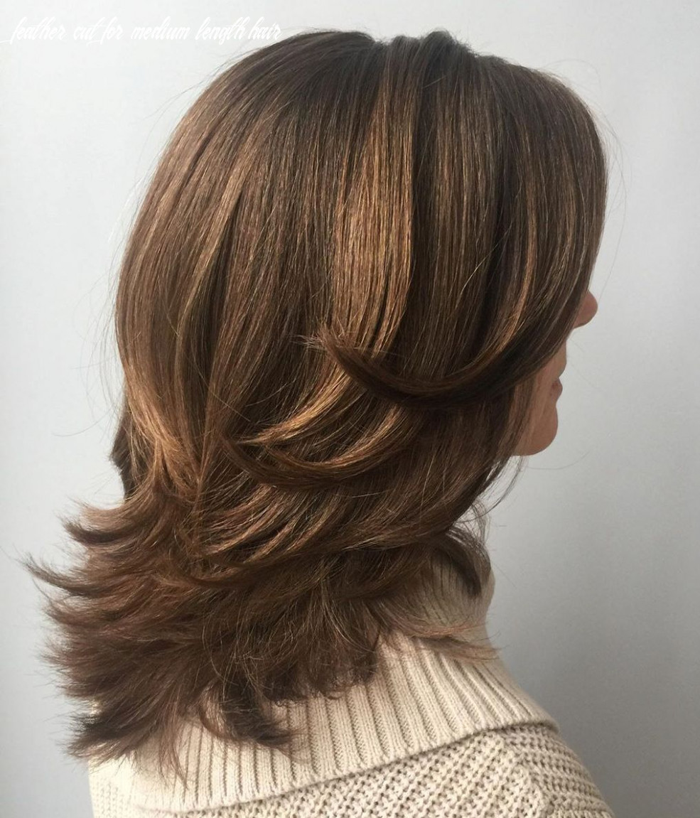 10 upgraded feathered hair cuts that are trendy in 10 hair adviser feather cut for medium length hair