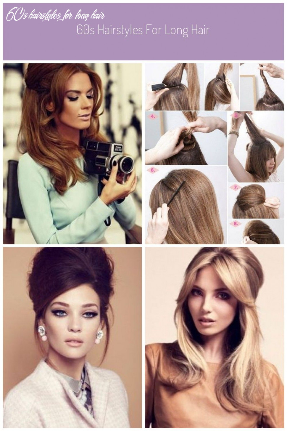 10s hairstyles for long hair   long hair styles 60s hairstyles for long hair