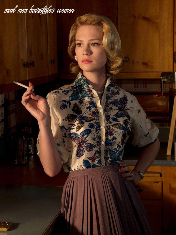 10s hairstyles for women | mad men fashion, betty draper, style mad men hairstyles women