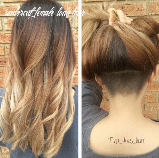 11 awesome undercut hairstyles for girls | undercut long hair