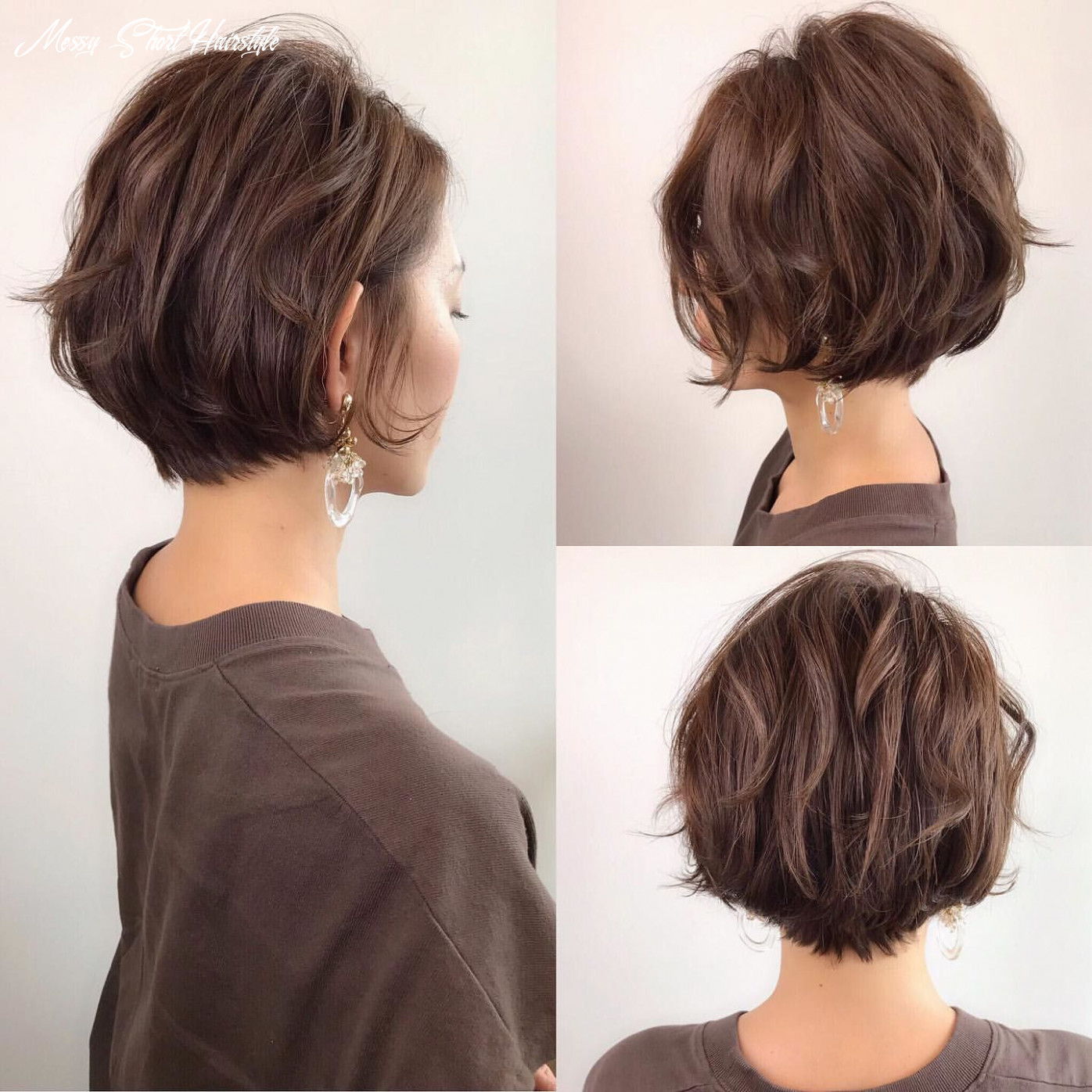 11 best messy short hairstyles japanese page 11 of 11   frisuren