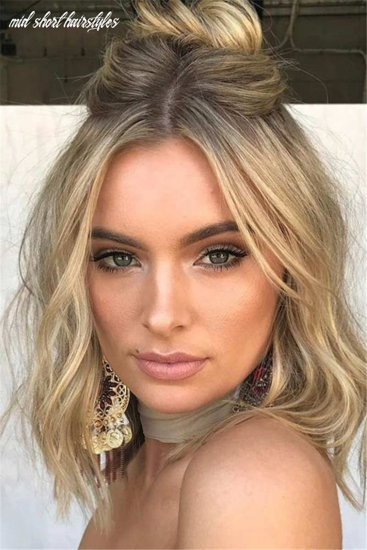 11 best short or mid length hairstyle for spring | prom hairstyles