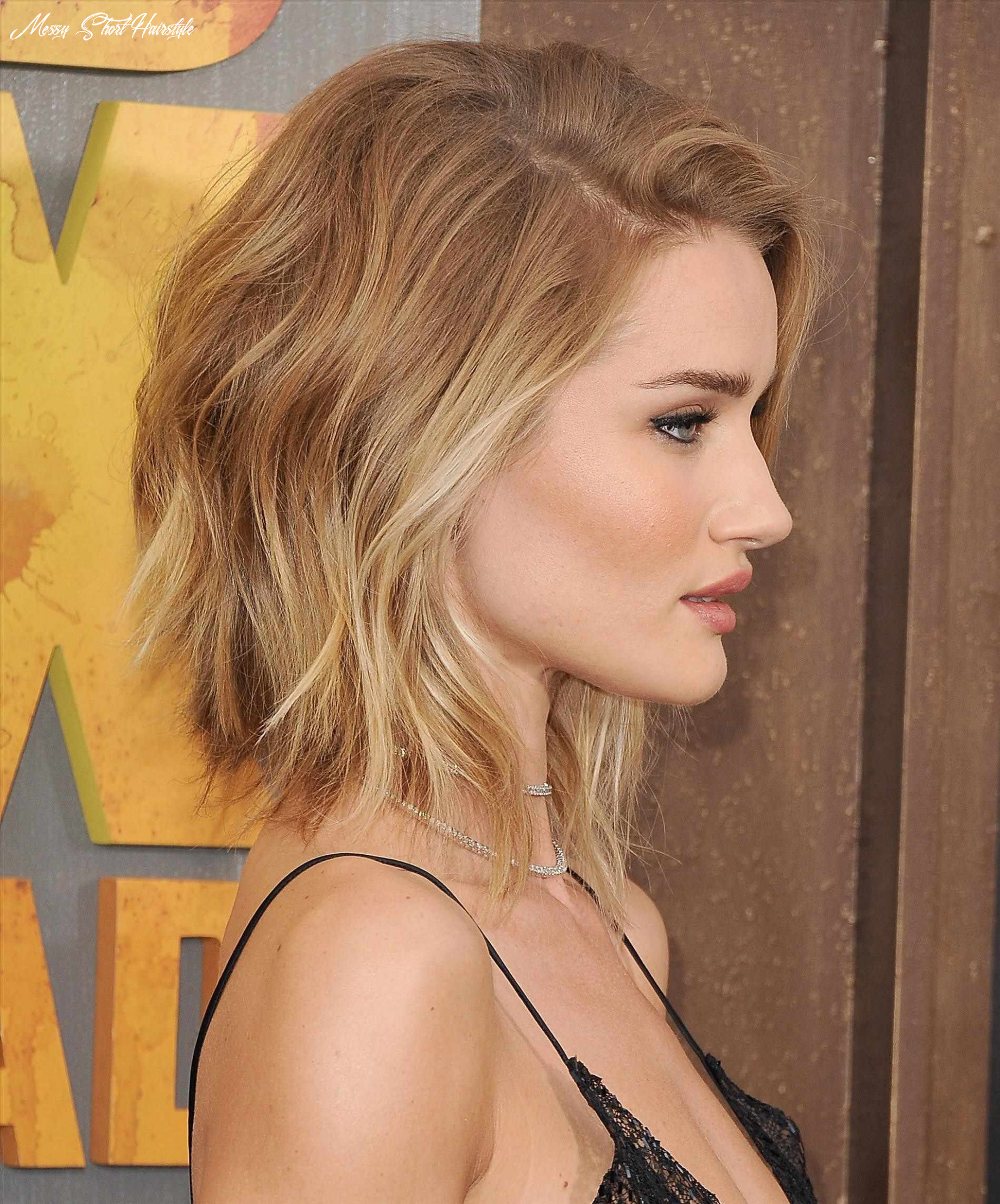 11 cute and easy messy short hairstyles for women   hairdo hairstyle messy short hairstyle