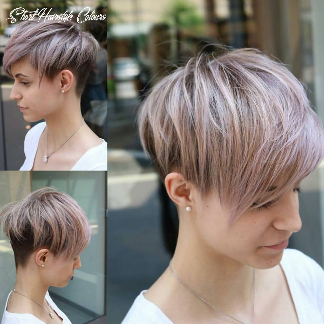 11 easy pixie haircut styles & color ideas 11 short hairstyle colours