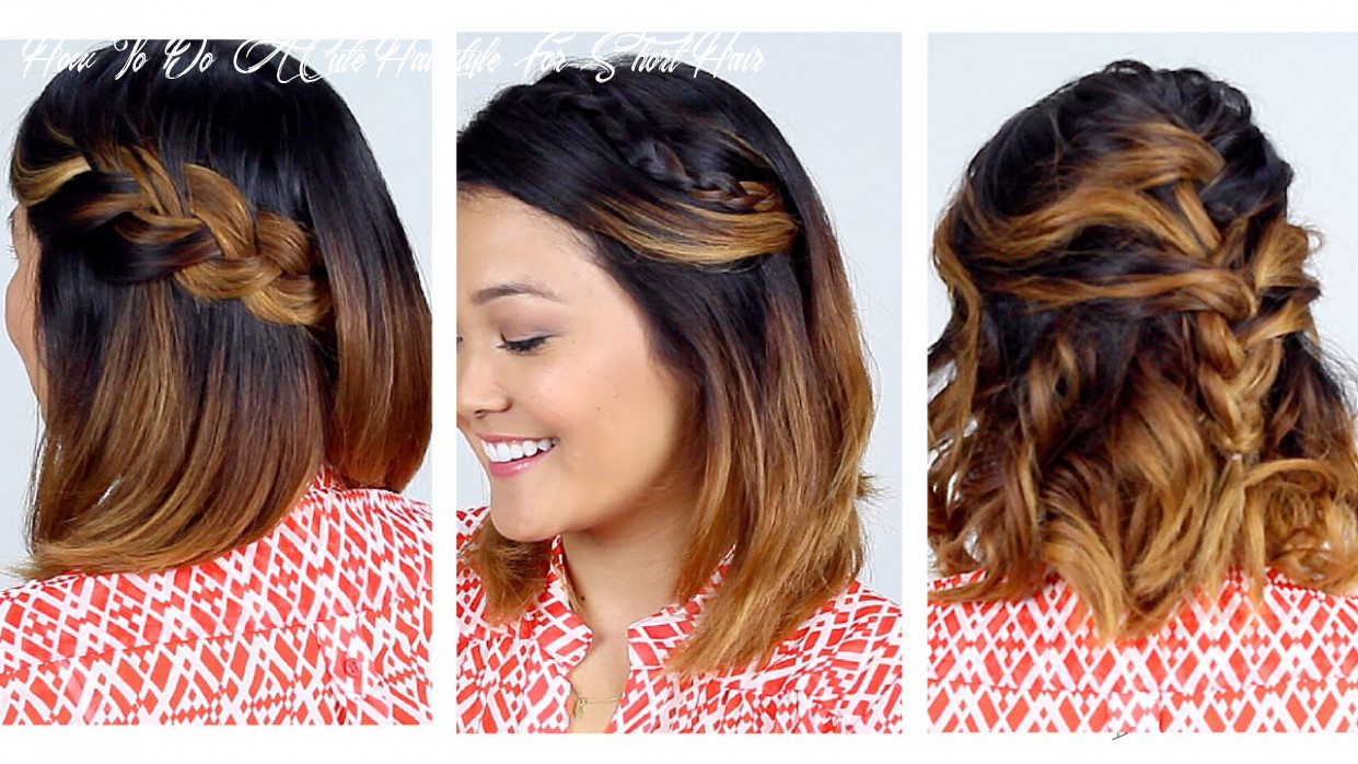 11 easy short hair hairstyles!! how to do a cute hairstyle for short hair