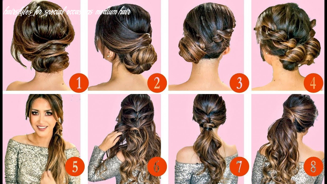 ? 11 elegant hairstyles & updos ? | easy hairstyle tutorial for long medium hair hairstyles for special occasions medium hair