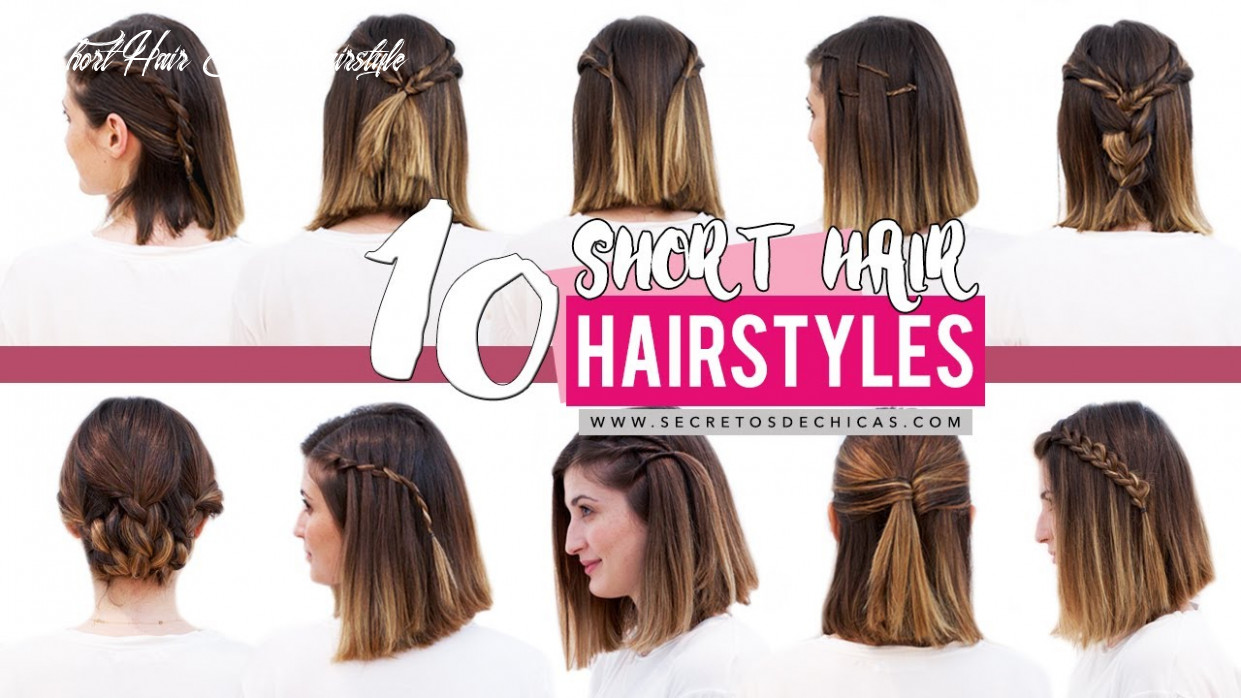 11 quick and easy hairstyles for short hair   patry jordan short hair easy hairstyle