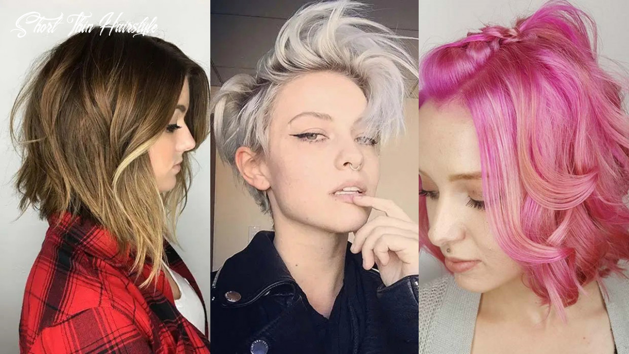 11 short hairstyles for women with thin hair   fashionisers© short thin hairstyle