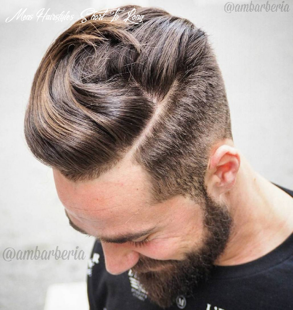 11 statement hairstyles for men with thick hair mens hairstyles short to long
