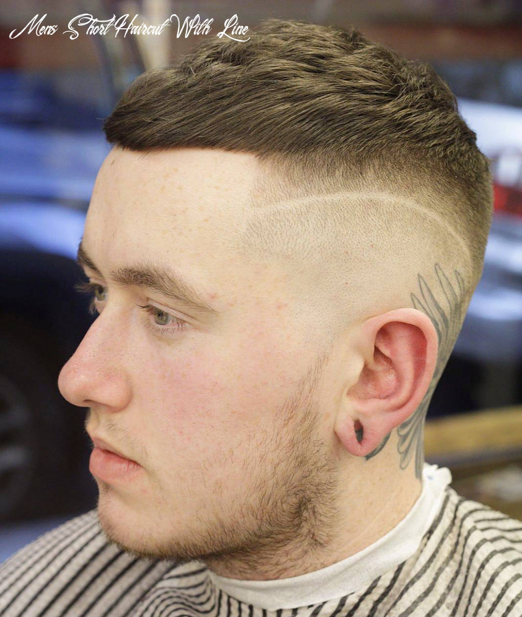 11 very short haircuts for men mens short haircut with line