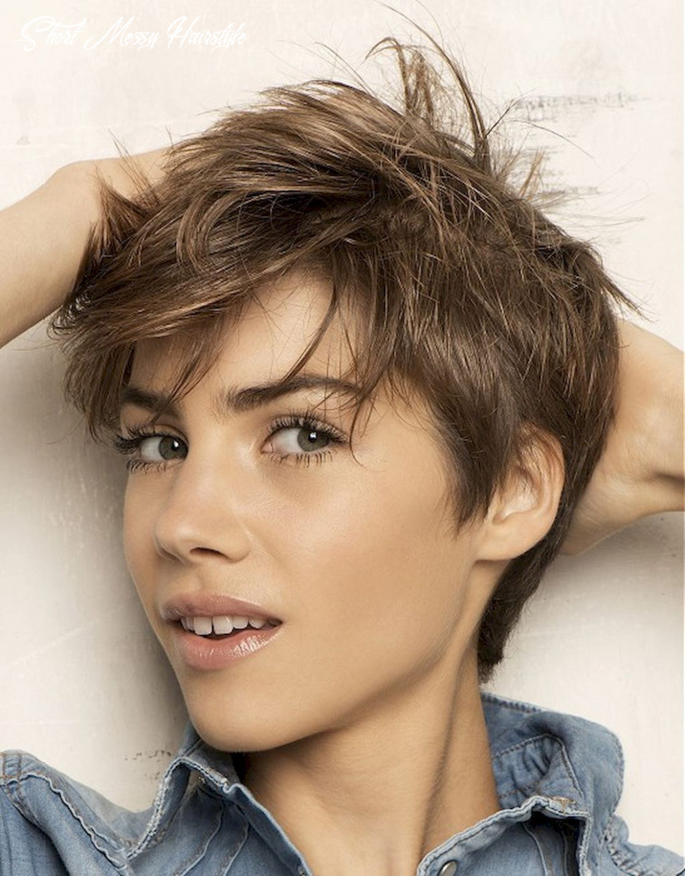 12 awesome messy hairstyles for short hair | messy short hair