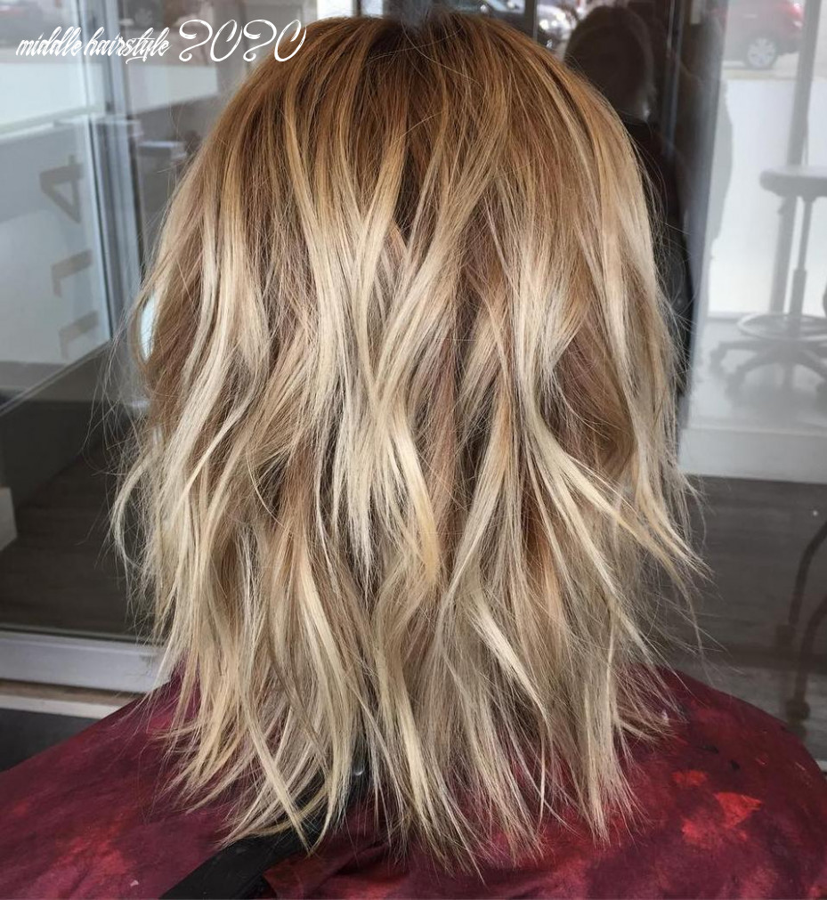 12 best medium length hairstyles for 12 hair adviser middle hairstyle 2020