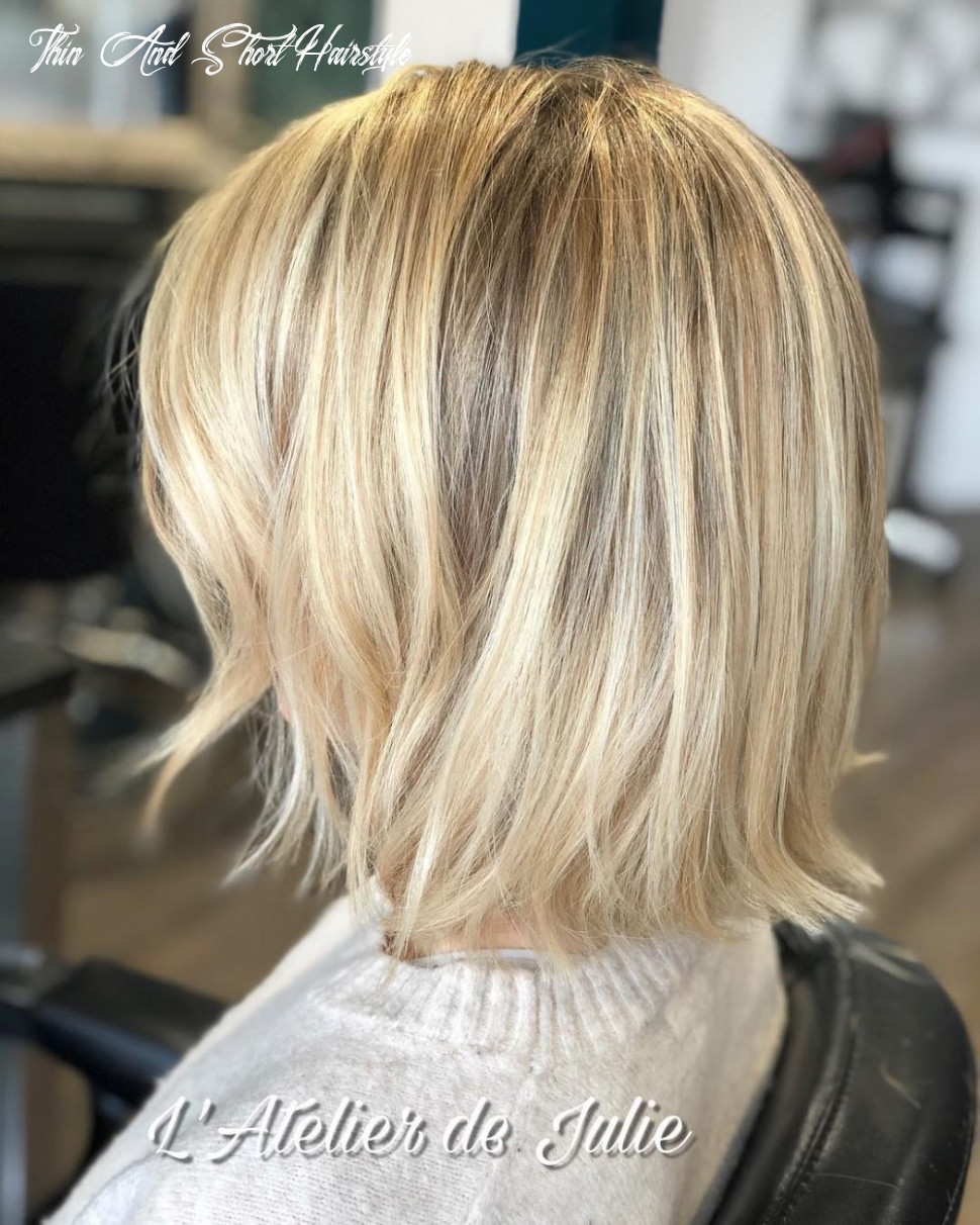 12 best short hairstyles for thin hair to look cute thin and short hairstyle