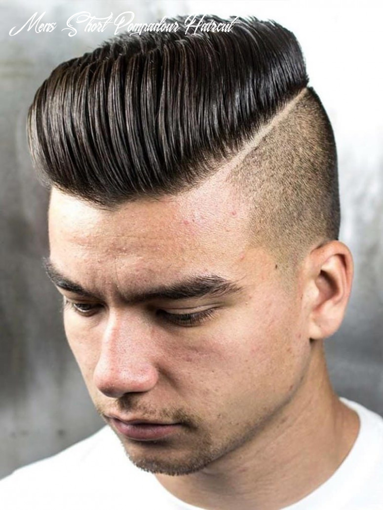 12 pompadour hairstyle to uplift your personality! mens short pompadour haircut