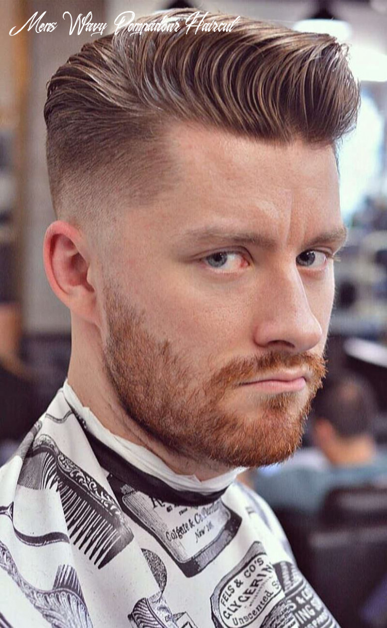 12 pompadour hairstyle to uplift your personality! mens wavy pompadour haircut