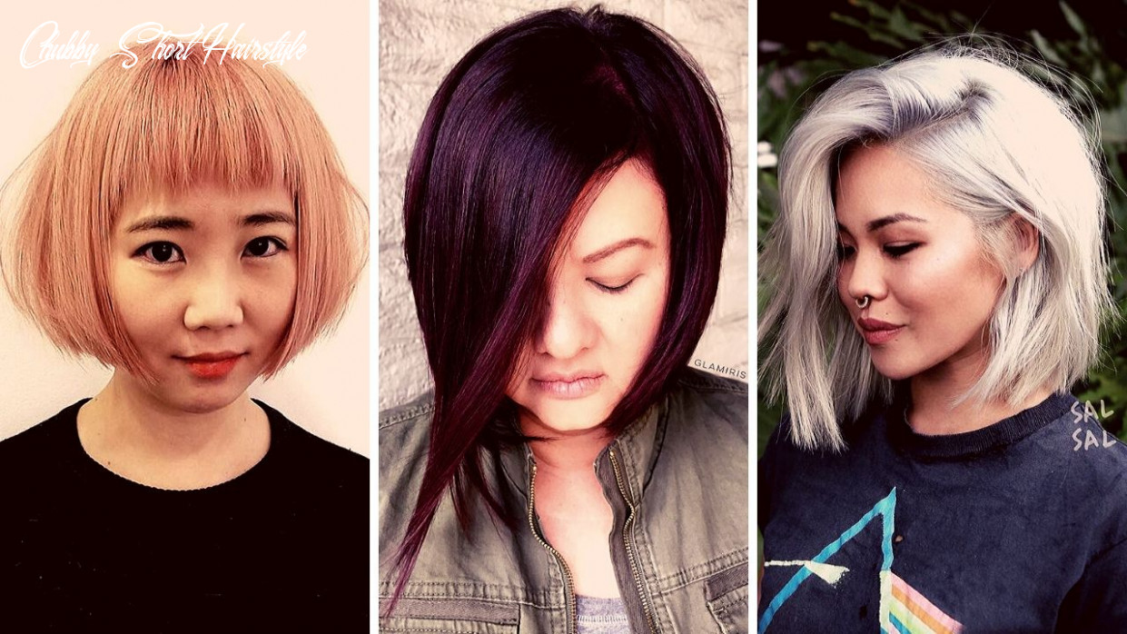 12 short hairstyles for fat faces and double chins | hairstyles
