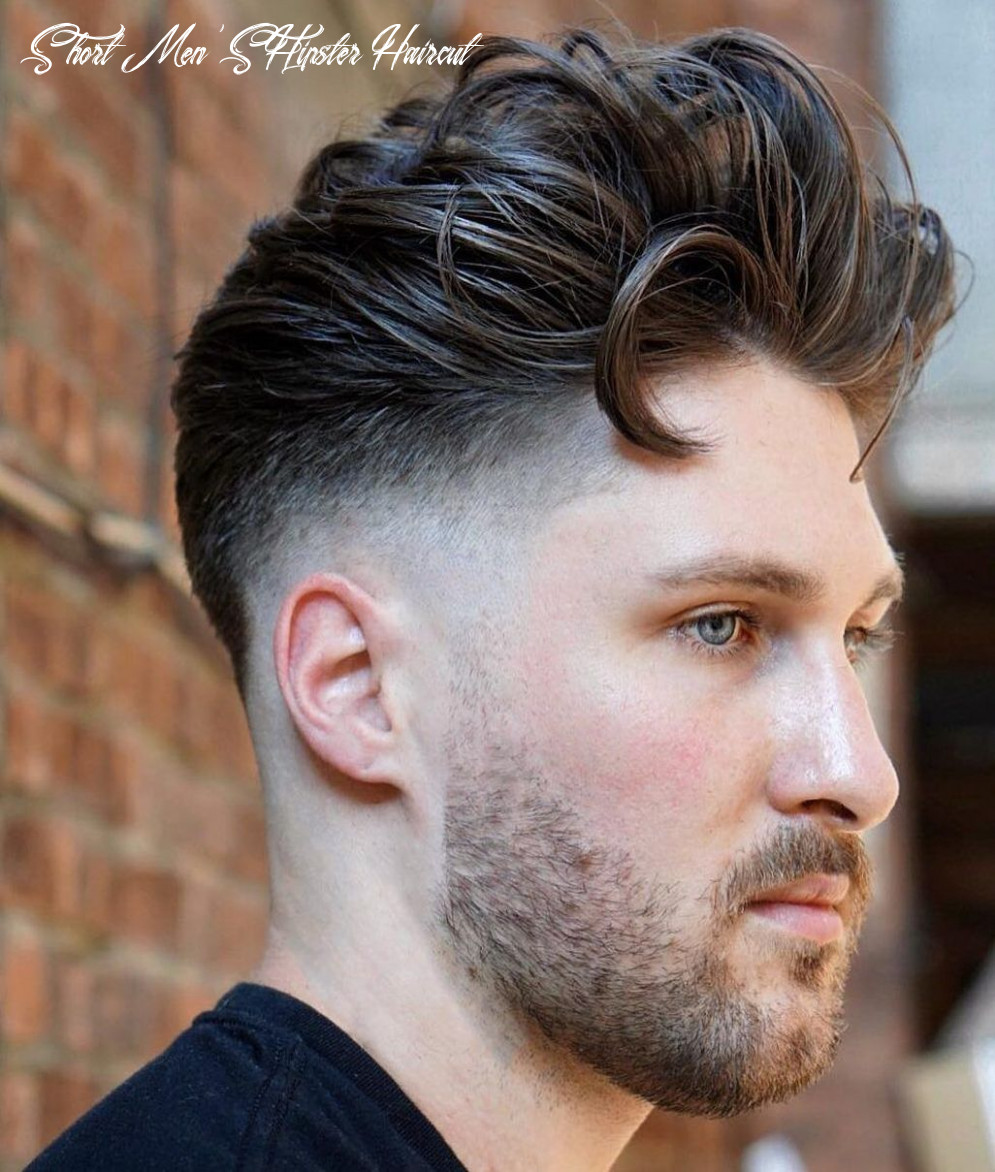 12 short hairstyles for men with wavy hair   hipster haircuts for