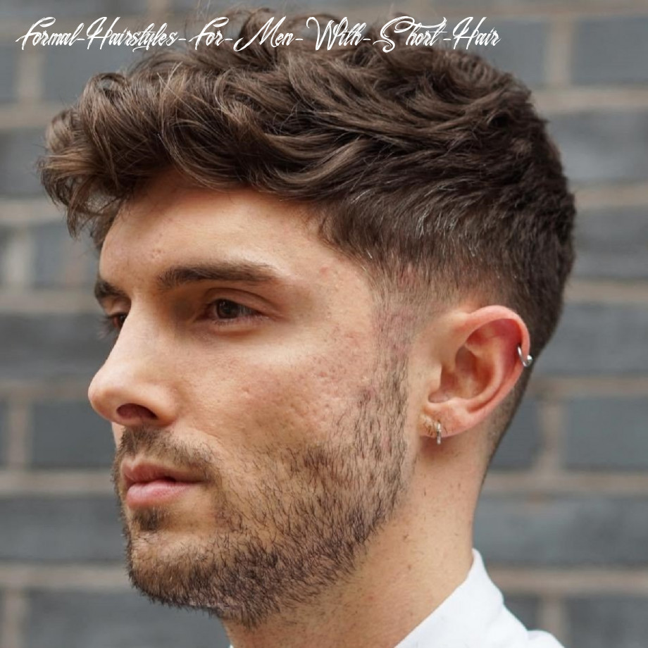 12 statement hairstyles for men with thick hair formal hairstyles for men with short hair