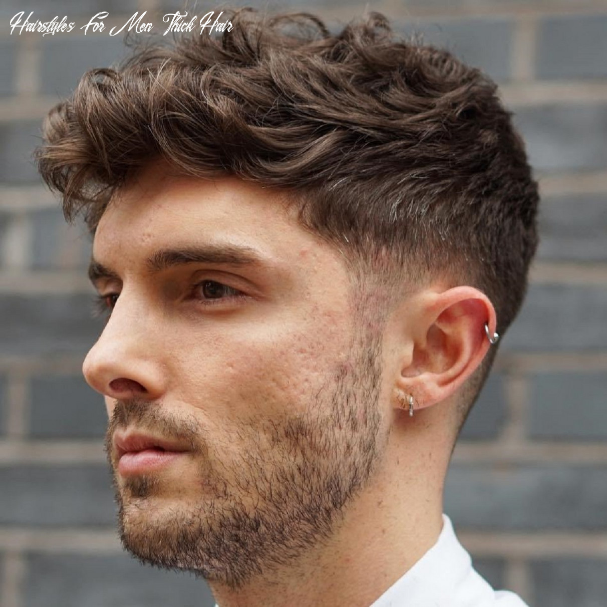 12 statement hairstyles for men with thick hair hairstyles for men thick hair