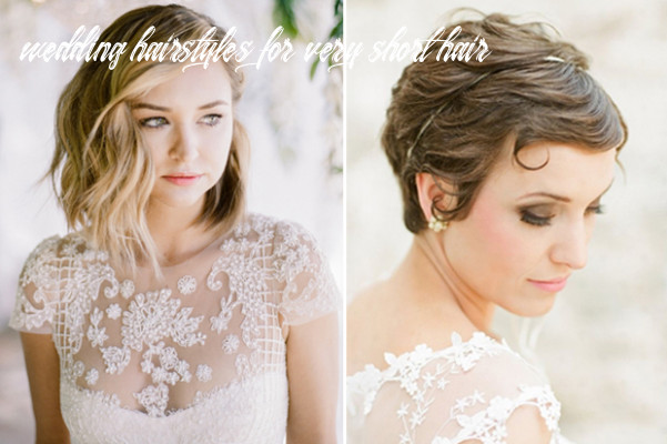12 sublime wedding hairstyles for short haired brides | weddingsonline wedding hairstyles for very short hair